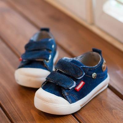 Kinder canvas schoenen 2018 lente kinder canvas casual Non-slip - Kinderschoenen - Foto 4