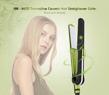 Big sale Kemei KM – 8950 Tourmaline Ceramic Hair Straightener Curler PTC heating body Professional Portable Ceramic Hair Styling Machine