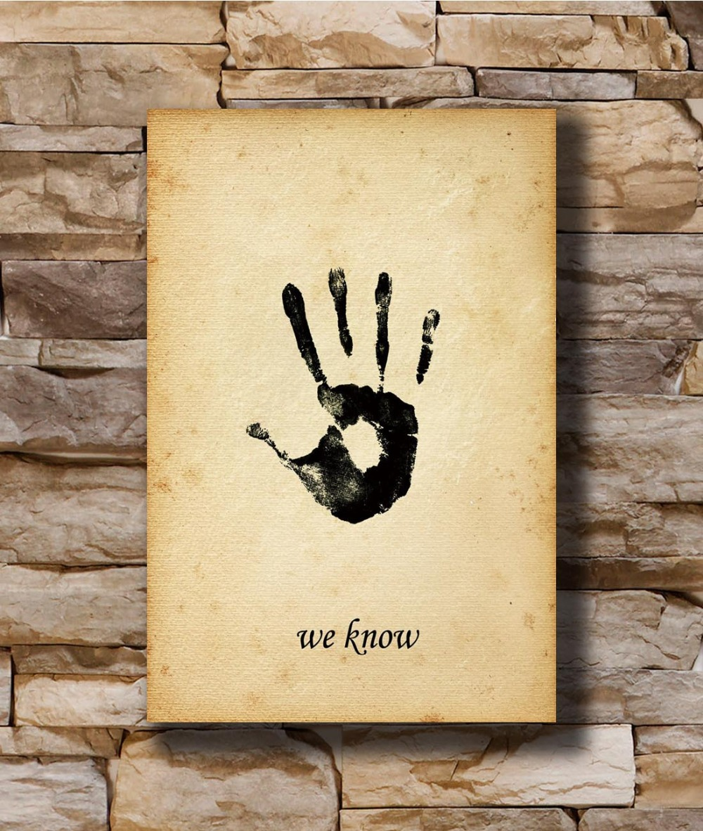 Buy skyrim canvas print and get free shipping on AliExpress.com
