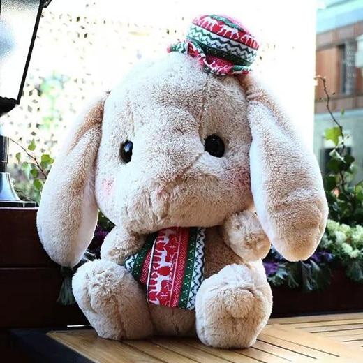 2015Amuse Japan LOLITA Loppy Lop pillow doll girl plush toy rabbit юбка amuse бежевый