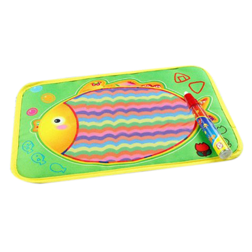Wholesale!Kids Water Drawing Painting Writing Mat Board &Magic Pen Doodle Toy Gift (29x19cm)