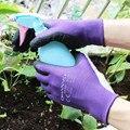 1 пара  высококачественные нескользящие перчатки для сада  садовые рабочие аксессуары