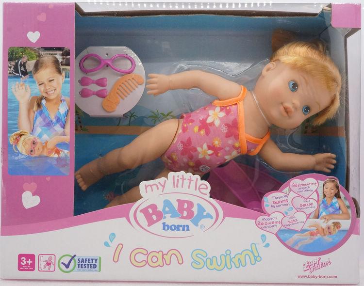 Hsb Toys Zapf Creation Baby Zapf Baby Born Doll I Can Swim