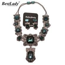 2016 Recién Llegado de nueva shourouk la vendimia de cristal collar de declaración de moda collar de regalos 2453
