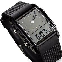Skmei Fashion Men Sports Watches Dual Time Digital Quartz 30