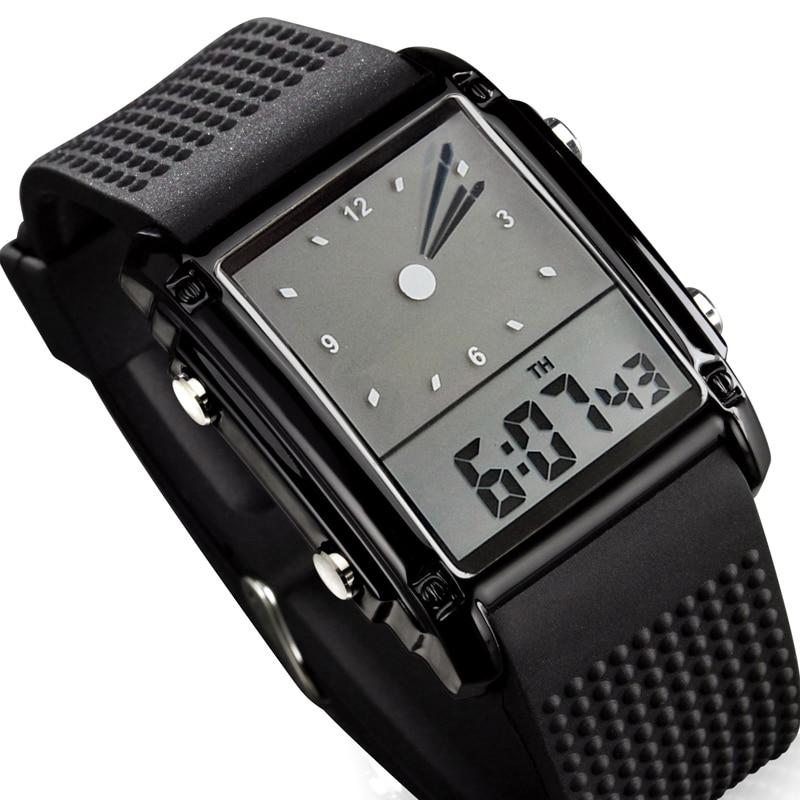 0b69bc7e457 Skmei Fashion Men Sports Watches Dual Time Digital Quartz 30m Waterproof LED  Colorful Backlight Casual Dress Men Wristwatch For Sale In Pakistan