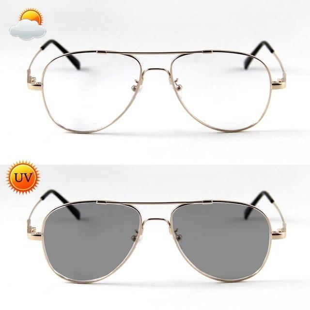 e02d56b0bc45f Unisex Fotocromáticas Óculos de Sol Condução Óculos Homens Lente Óculos  Óculos Homens Mulheres Óculos de Computador