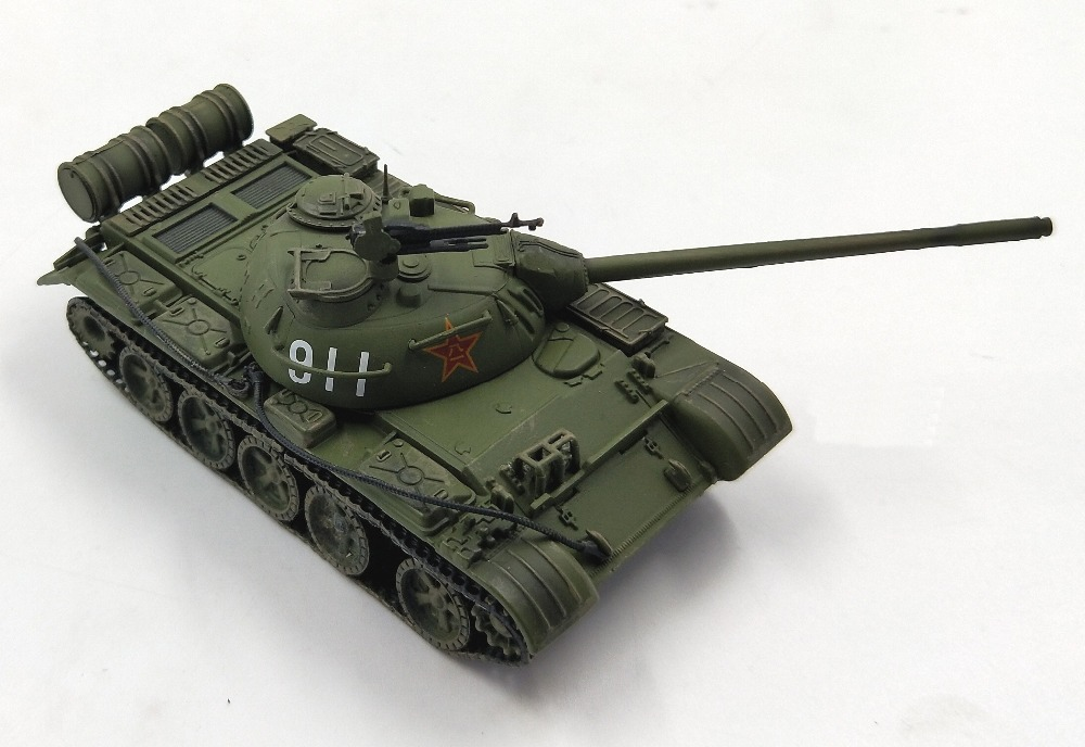 Rare  Special Offer  1:72  Chinese Type 59 Main Battle Tank  Imitating T55 Tank  Alloy  Collection Model
