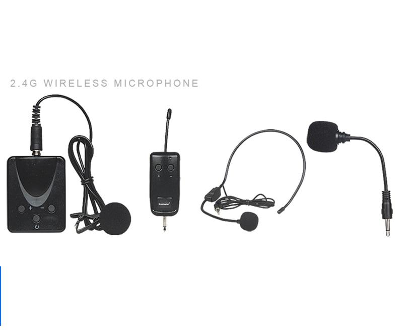 KAXISAIER 2.4G wireless microphone Transmitter receiver Lavalier / Headset / Handheld Microphone etj brand wireless vhf changable handheld bodypack headset lavalier microphone dual wireless microphone u 201