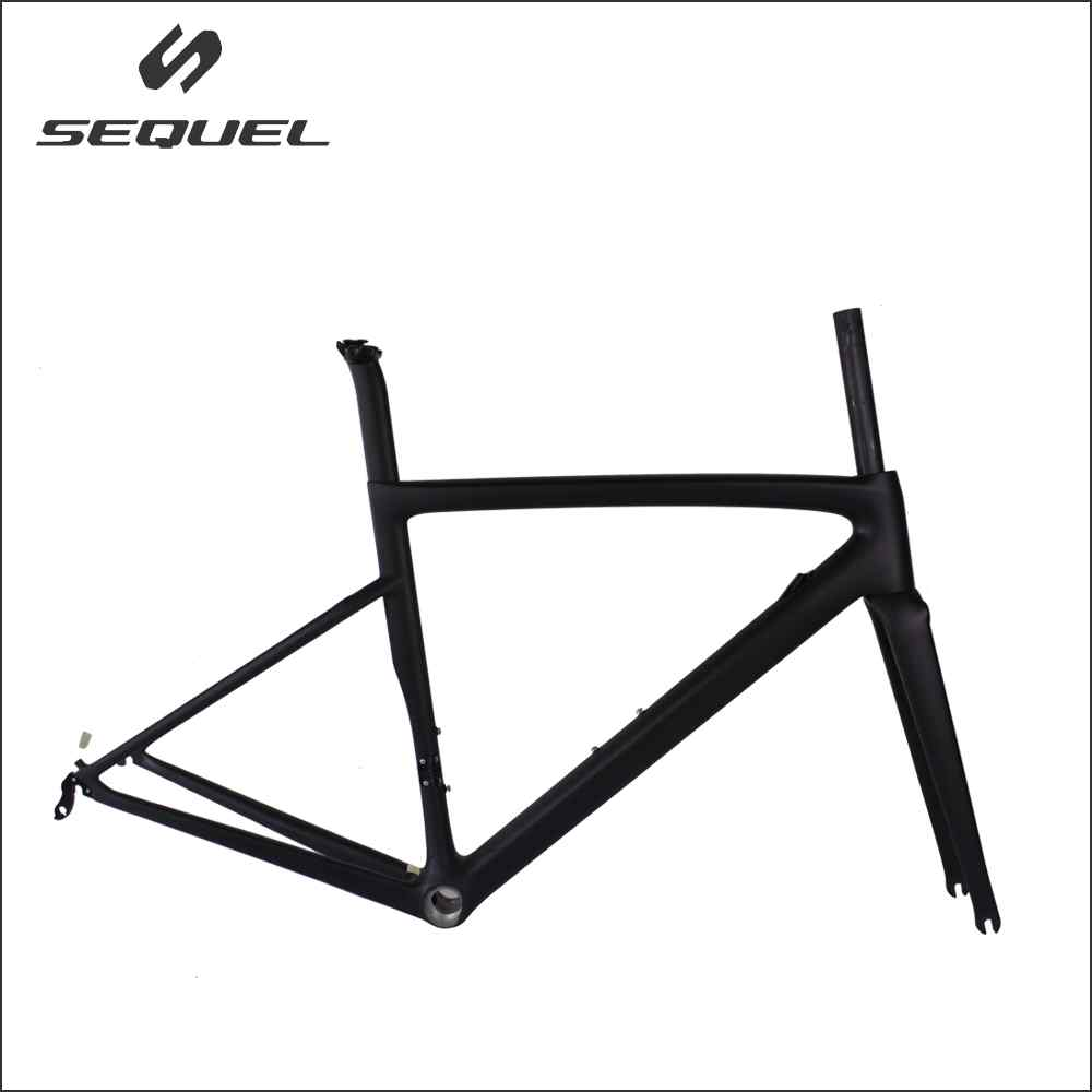 New Carbon Road Frame Direct Mounted Brake Carbon Route Bicicleta Frames T1100 UD Racing Bike