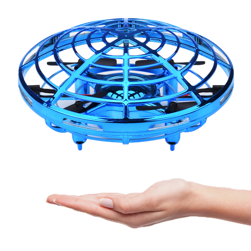 UFO hand flight simulator automatic collision avoidance manual remote control aircraft multi directional sensing toys in Simulators from Toys Hobbies
