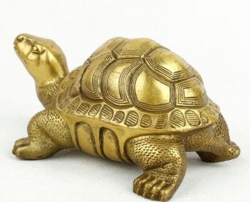 Brass copper tortoise furnishing articles feng shui turtle god turtle