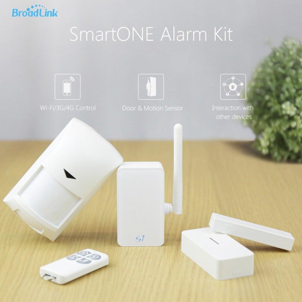 Broadlink S1 4 in 1 Alone Sensor Smart ONE Smart Home kit PIR Sensor Contorls in Sensors Connected