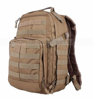 Tactical Backpack sports bag Field Kit patrol assault backpack bag black / army green / clay color