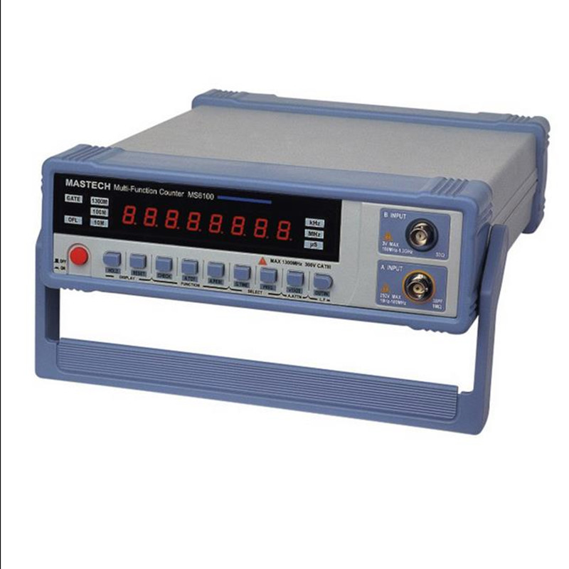 Digital portable digital inductance capacitance table MS6100 Digital C/L Meter Intelligent frequency meter  цены