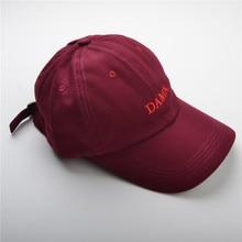7c6399d08b7 DAMN Baseball Cap Duck Tongue Hat Red Color Outdoor Leisure Visor Hat Dad  Hats Trucker Bone Kendrick Lamar Snapback