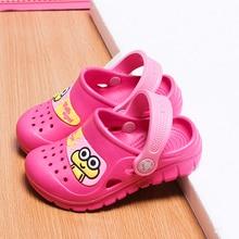 Three-8Years Toddler Summer Style Brand Children's Sandals 3D Cartoon Boys Girls Beach Slippers Kids Shoes Sandal Six Color TX110015