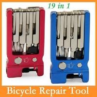 SAHOO 19 In 1 Bike Tools Kit Kit Cycling Repair Tool Bicycle Tools Portable BMX MTB