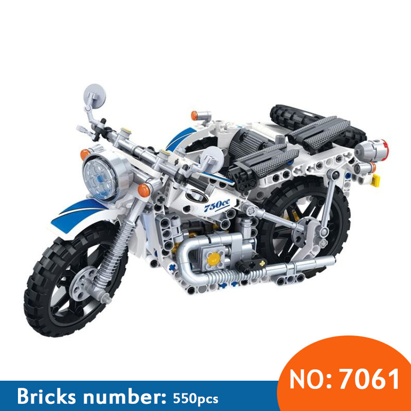 NEW Technic series assembled block toy Motorbike Motorcycle Car bicycle Helicopter model boy building bricks blocks toy yile 107 2 in 1 3353 3354 technic motorbike motorcycle car building bricks blocks toys for children boy game bela 8051