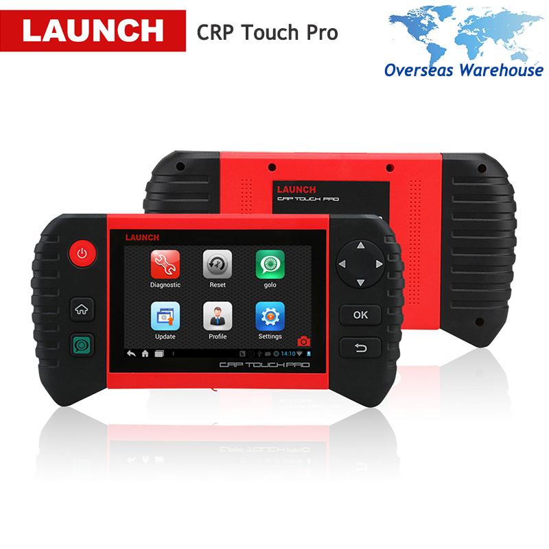 LAUNCH Creader CRP Touch Pro Car Diagnostic Tool Full System Autoscanner Auto Diagnostics Scan Tools Oil Reset Brake DPF SAS
