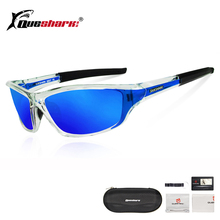 QUESHARK Polarized Cycling Sunglasses Running Men Oculos Ciclismo Sport