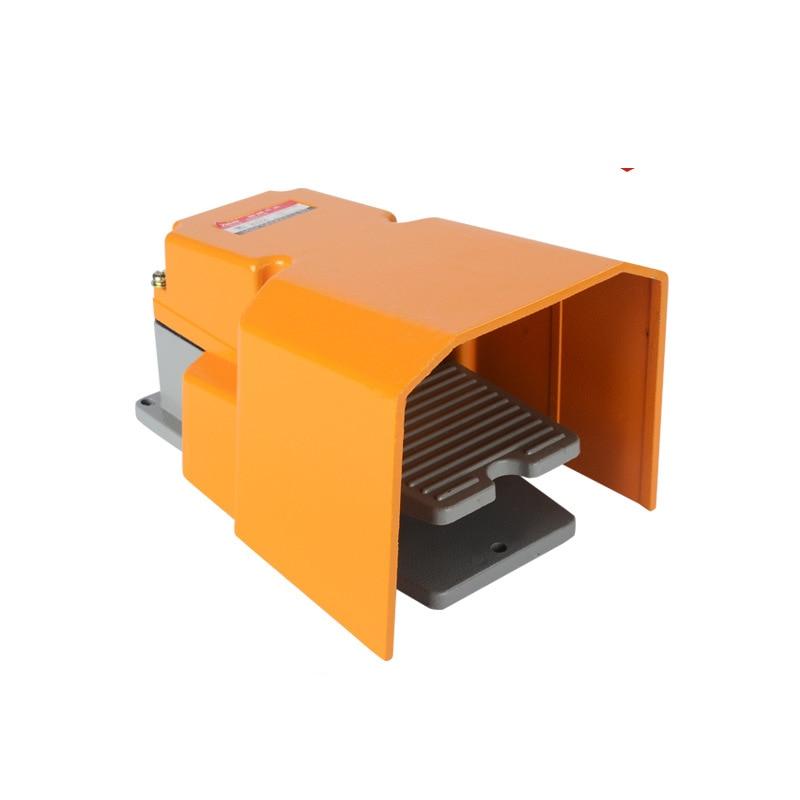 Interrupteur à pied avec certificat CE LT-6H garde livraison gratuite CNC interrupteur à pédale en alliage métallique, marche-arrêt industriel robuste