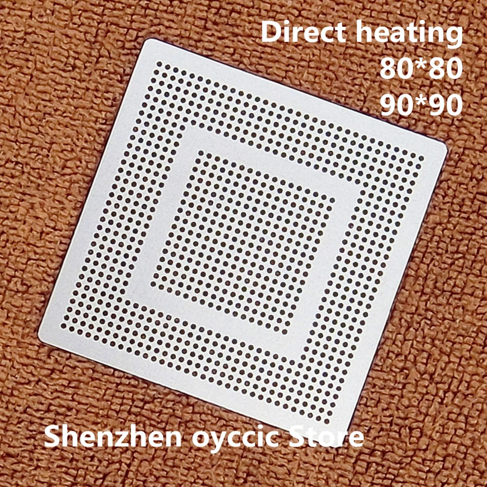 Direct Heating  80*80  90*90  SDP1002 SDP1001 SDP92  Stencil Template