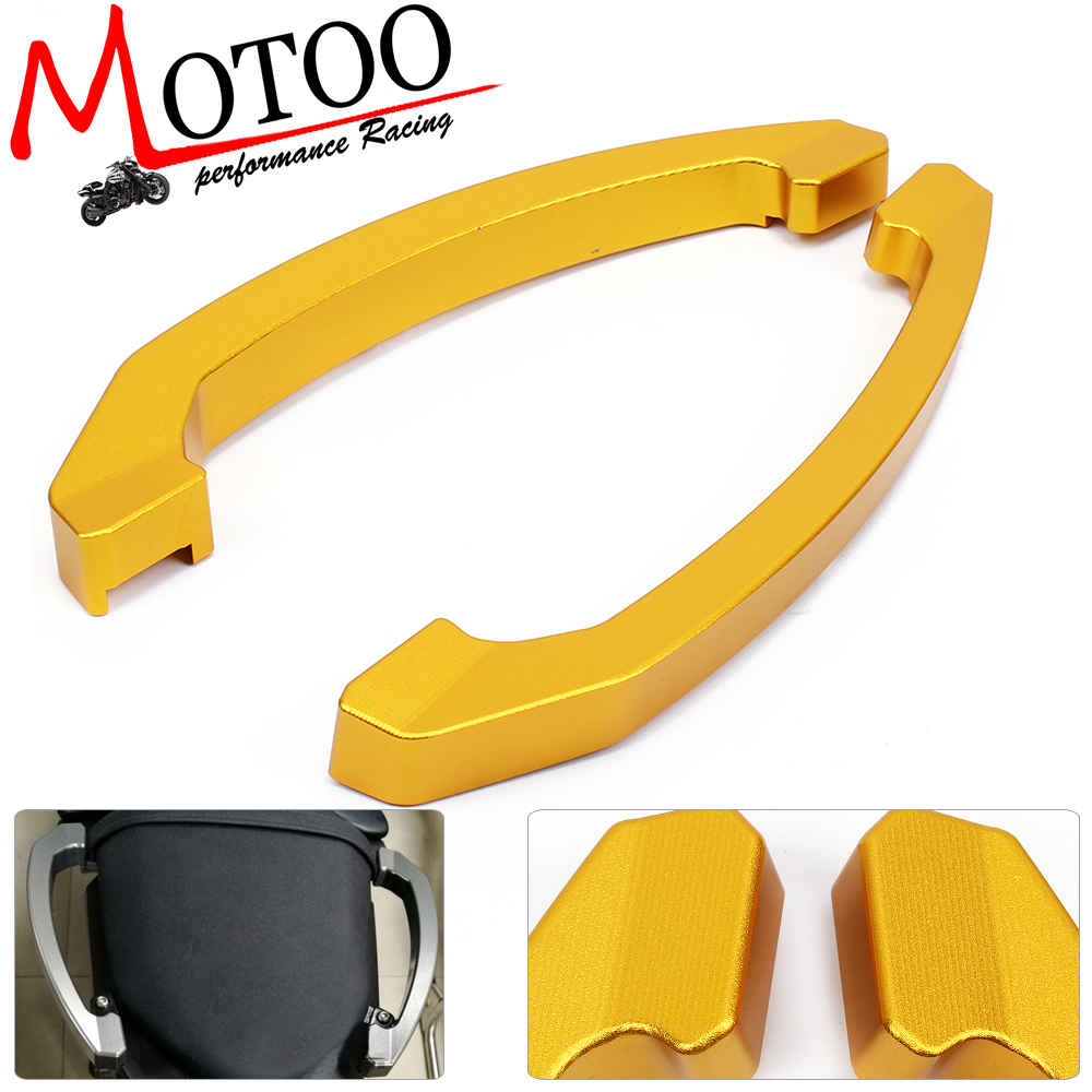 Motoo - High Quality Rear Grab Bars Rear Seat Pillion Passenger Grab Rail Handle For Yamaha MT07 FZ07 MT-07 FZ-07 2014 2015 2016 for yamaha mt 07 fz 07 mt07 fz07 rear seat cover cowl painted abs plastic for yamaha mt 07 fz 07 mt07 2014 2015 2016 new arrival
