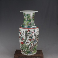 9 Antique QingDynasty porcelain vase,Pastry flowers and birds bottle 9,hand painted crafts,Decoration,Collection&Adornment