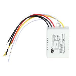 Image 5 - 3ポートワイヤレスリモートコントロールスイッチのon/オフ220vランプライトデジタルワイヤレス壁リモートスイッチレシーバトランスミッタ