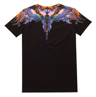 Simwood 2018 New T Shirt Men Slim Fit Print Color Fitness Casual Tops 100 Cotton Tshirt
