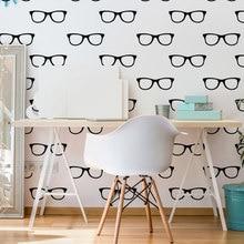Хипстерские солнцезащитные очки, съемные наклейки на стену для детской комнаты, домашний декор, виниловые водонепроницаемые наклейки, искусство для гостиной K73