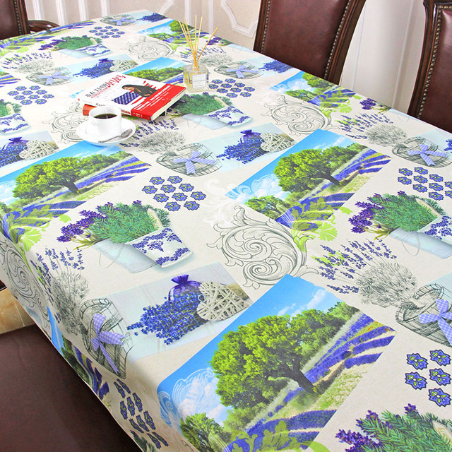 Captivating 2017 New Spring Waterproof Lavender Pattern Table Cloth High Quality  Tablecloth Table Cover Manteles Para Mesa