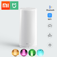 Xiaomi Mijia Smart Bedside Lamp WiFi LED Dimmable RGBW Color Smart Light 1700K 6500K 100 240V 50/60Hz APP Mi Home Philips Zhirui