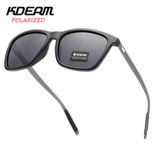 KDEAM Brand 2019 new Square Unisex Retro Aluminum Sunglasses Polarized Lens Vintage Sun Glasses For Men/Women UV400 merry s fashion unisex retro aluminum sunglasses men polarized lens brand designer vintage sun glasses for women uv400 s 8286