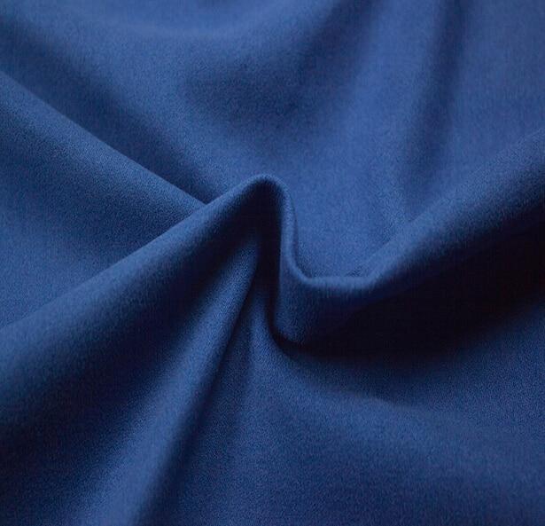 Deep Blue Suede Fabric High Grade Diy Handmade Garment In From Home Garden On Aliexpress Alibaba Group
