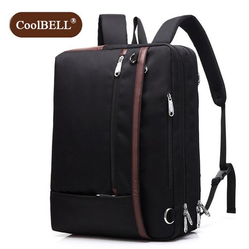 ระฆังเย็นแบรนด์ที่มีสไตล์ความจุขนาดใหญ่เดินทางกระเป๋าเป้สะพายหลังชายกระเป๋าสะพายกระเป๋าคอมพิวเตอร์แบกเป้ผู้ชายทำงาน D382-ใน กระเป๋าเป้ จาก สัมภาระและกระเป๋า บน AliExpress - 11.11_สิบเอ็ด สิบเอ็ดวันคนโสด 1