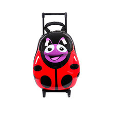 NEW Cartoon Kids ABS Spinner Rolling Luggage Trolley Case Children Bags Suitcase Carry Ons Boy Girl Bag of Wheels Backpack(China)