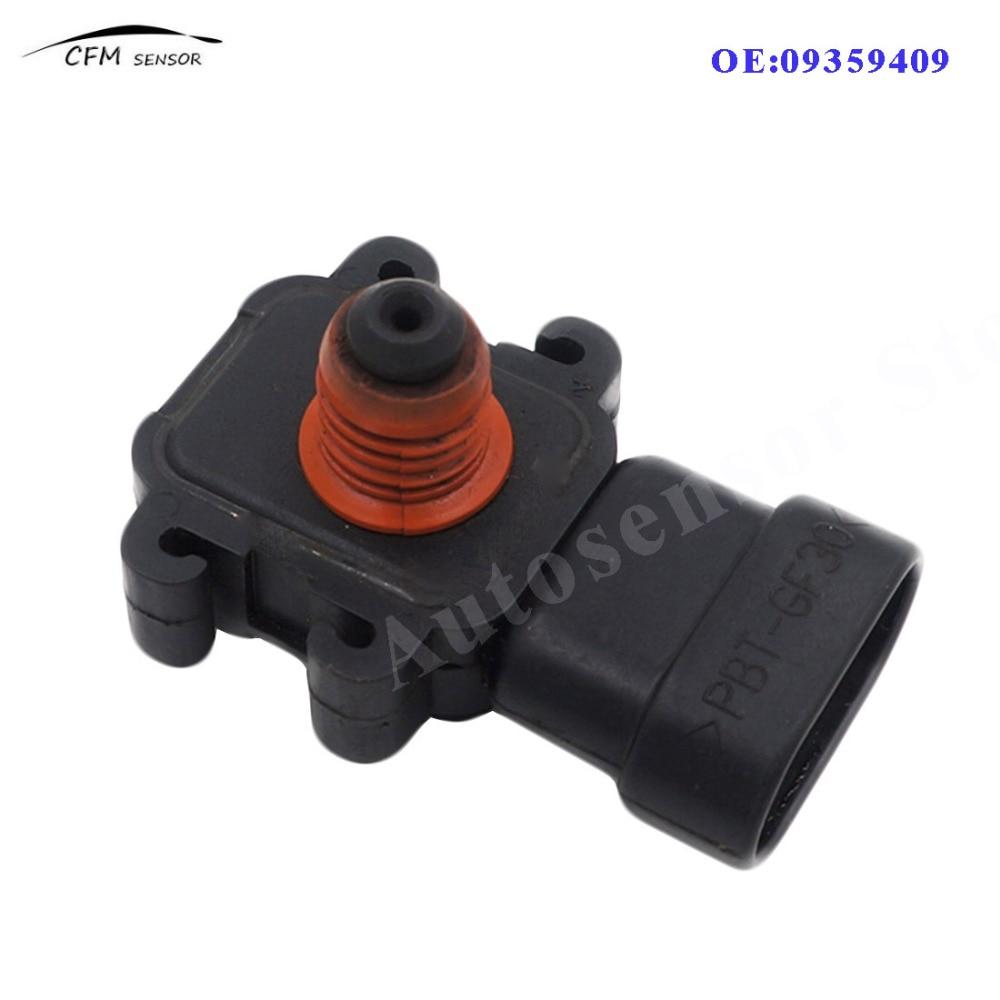 09359409 new manifold absolute pressure map sensor for gm buick cadillac chevrolet gmc isuzu oldsmobile pontiac