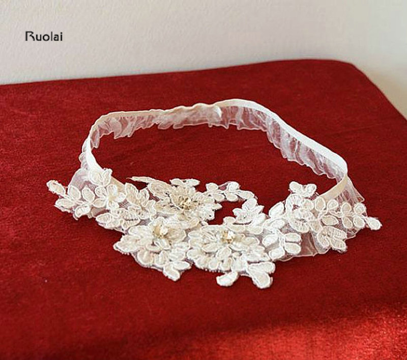 Country Wedding Garters: Aliexpress.com : Buy 2017 Ivory Lace Appliques Wedding Leg