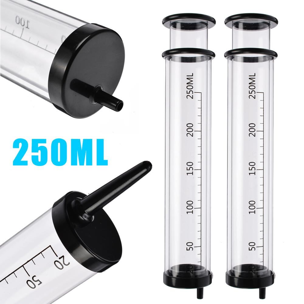 250ml Large Capacity Reusable Syringe Injector Enemator Anal Douche Cleansing Liquid Plus Water Plastic Needle Tube Injection