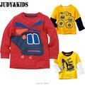 Bobo choses roupa dos miúdos outono inverno manga comprida camisola marcas hoodies next t camisa dos desenhos animados do menino da criança camisas topos de bebes