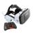 Novo CHEFE VR Realidade Virtual óculos 3D Com microfone de fone de ouvido fone de Ouvido Speaker Botão para 4.0-6.0 de smartphones