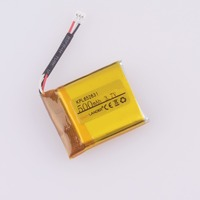 Easylander Replacement 652631 3.7V 500mAh Li polymer Battery For smart watch mp3 mp4 gps KPL652631 Suunto Ambit 3 Ambit 2