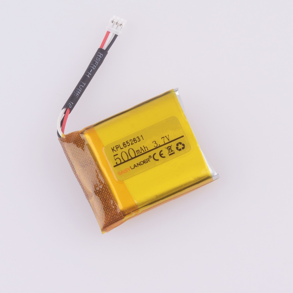 купить Easylander Replacement 652631 3.7V 500mAh Li-polymer Battery For smart watch mp3 mp4 gps KPL652631 Suunto Ambit 3 Ambit 2 по цене 2583.23 рублей