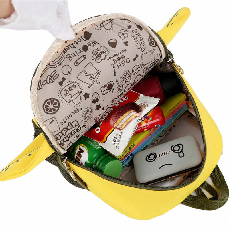 88f243bf51 ... Cartoon Kids Kindergarten Backpack Children School Bags for Boys Girls  preschool book bag Nursery Baby Satchel ...