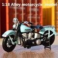 1:18 Сплава моделей мотоциклов, высокая моделирования литья металла мотоцикл toys, Harley-Davidson, бесплатная доставка