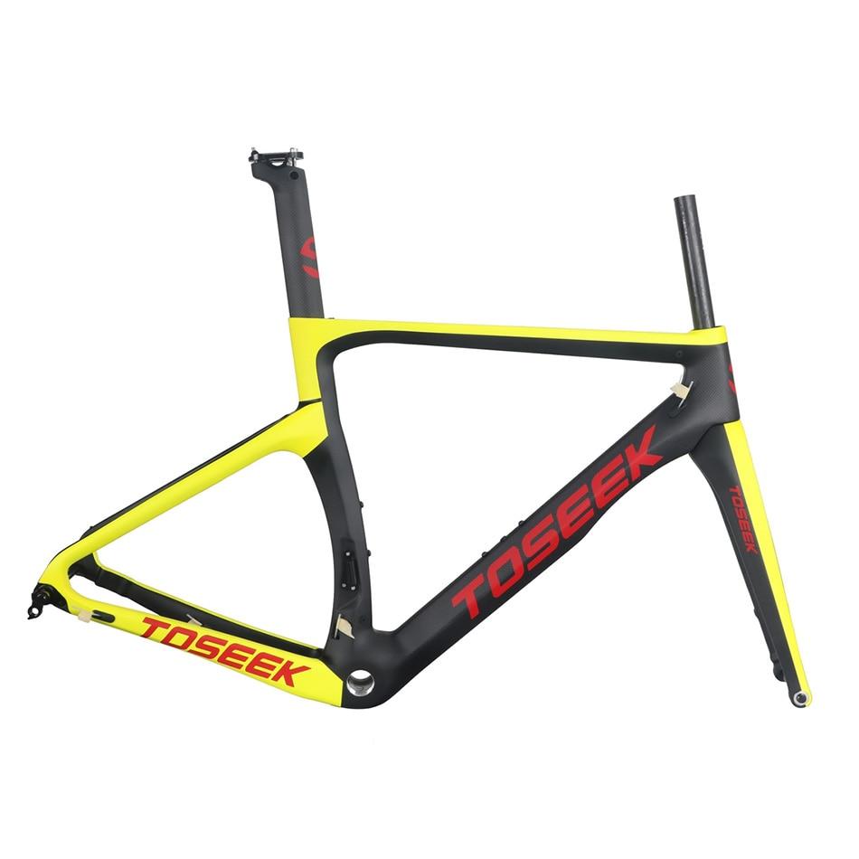 Full Carbon 3k Matte Disc Brake Road Bike BSA Frame (Full Internal Cable) + Fork + Headset