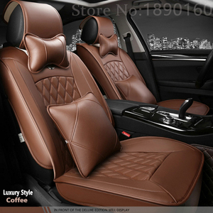 Image 4 - High quality Special Leather Car seat covers for Jaguar All Models XF XE XJ F PACE F TYPE brand firm soft pu leather seat covers