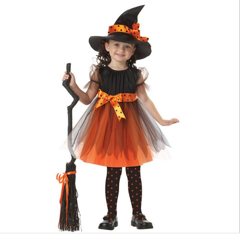 Kids Witch Costume Fancy Dress Halloween Costumes Children Girls Purple Witch Costume Makeup Wizard of Witch Costume Cosplay-in Holidays Costumes from ...  sc 1 st  AliExpress.com & Kids Witch Costume Fancy Dress Halloween Costumes Children Girls ...